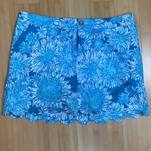 Lilly Pulitzer Colette Skort,Lion in the Sun, Sz.6